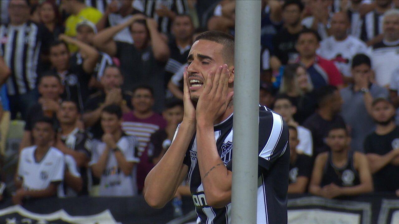 Melhores momentos de Ceará 0x0 Botafogo pela 19º rodada do Campeonato Brasileiro