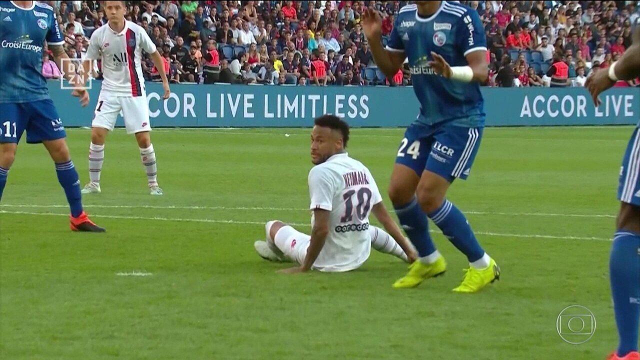 Neymar responde vaias com golaço em volta ao PSG pelo Campeonato Francês