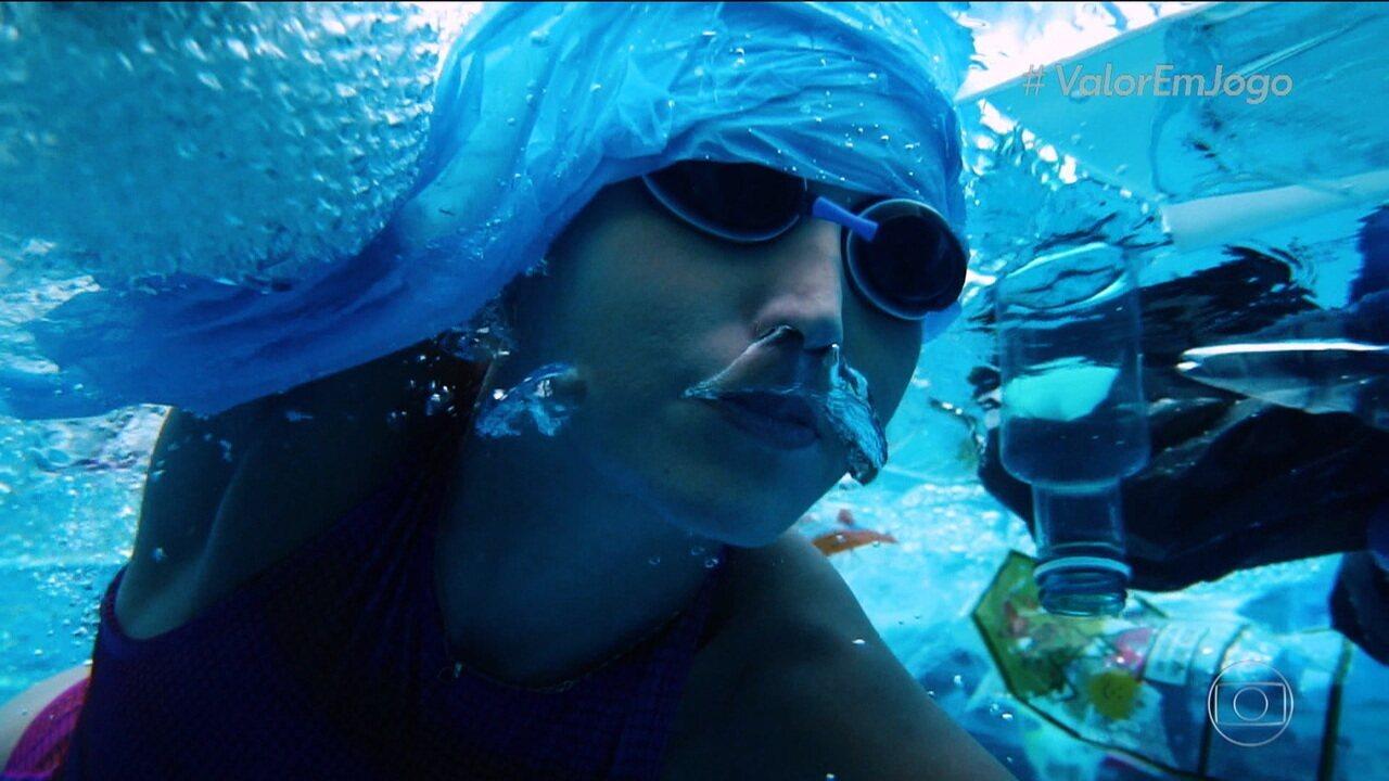 Valor em Jogo: atletas e entidades promovem limpeza dos mares para diminuir impacto na prática esportiva e vida marinha