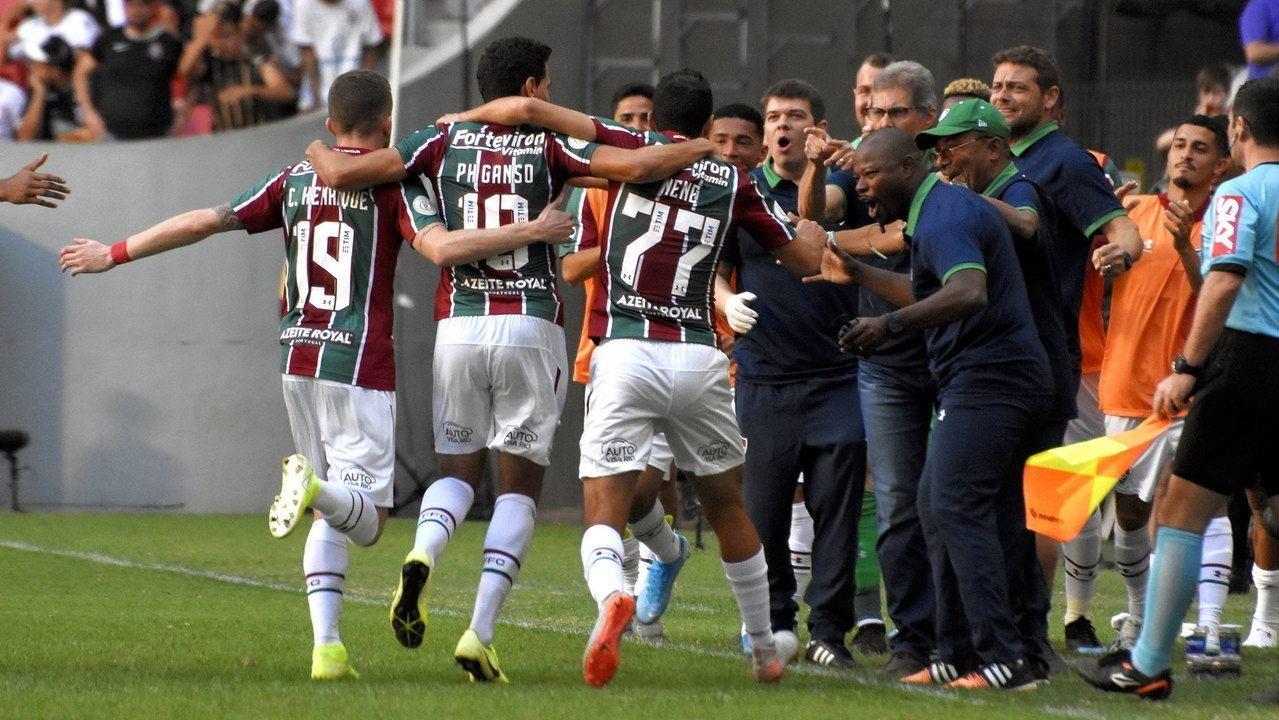 Melhores momentos: Fluminense 1 x 0 Corinthians pela 19ª rodada do Brasileirão