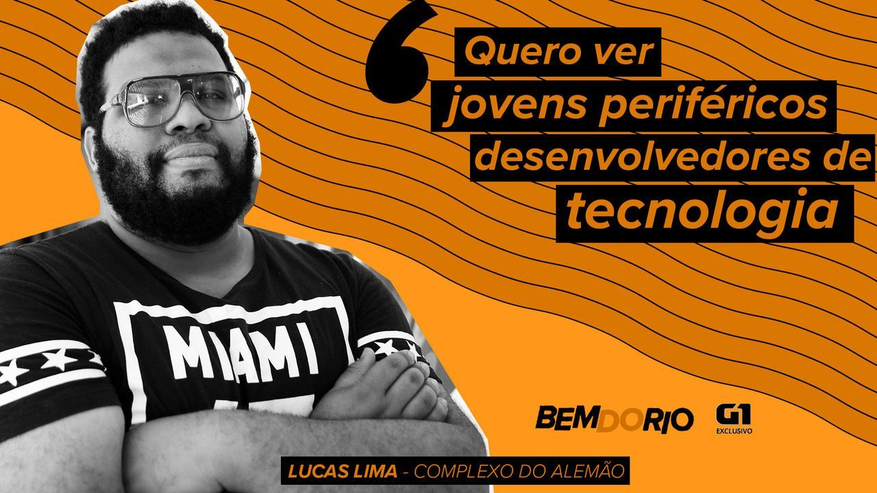 Bem do Rio: Jovem morador do Complexo do Alemão cria impressoas 3D com sucata eletrônica