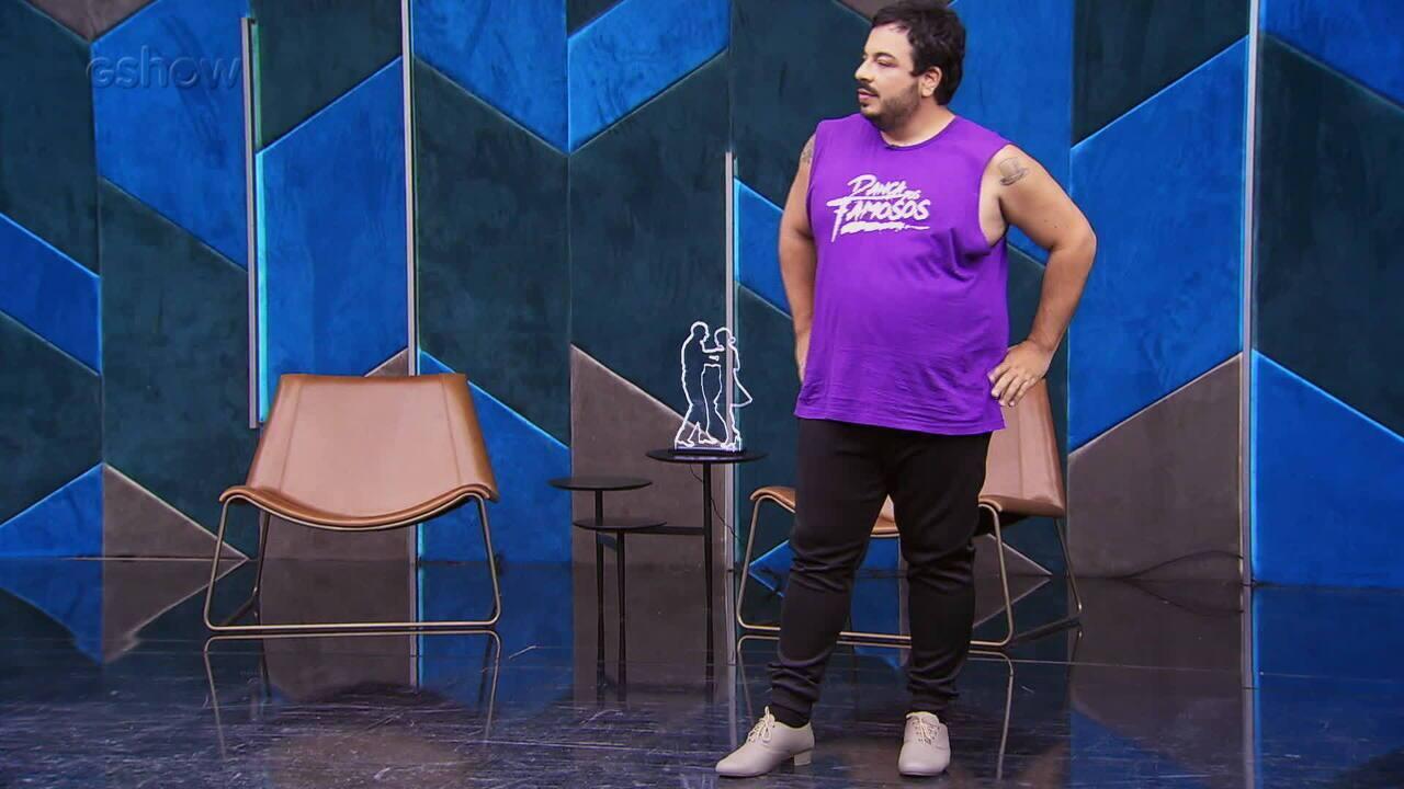 Veja o ensaio de Luis Lobianco com Franciele Pimenta para o forró no 'Dança dos Famosos'