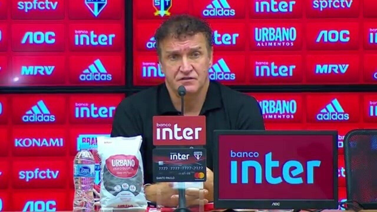 Veja como foi a entrevista do técnico Cuca, do São Paulo, após o empate com o CSA
