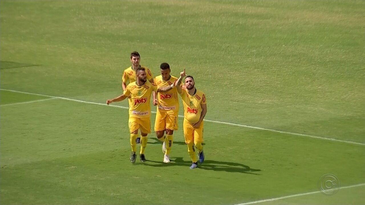 Mirassol vence o Nacional e garante vaga na terceira fase da Copa Paulista