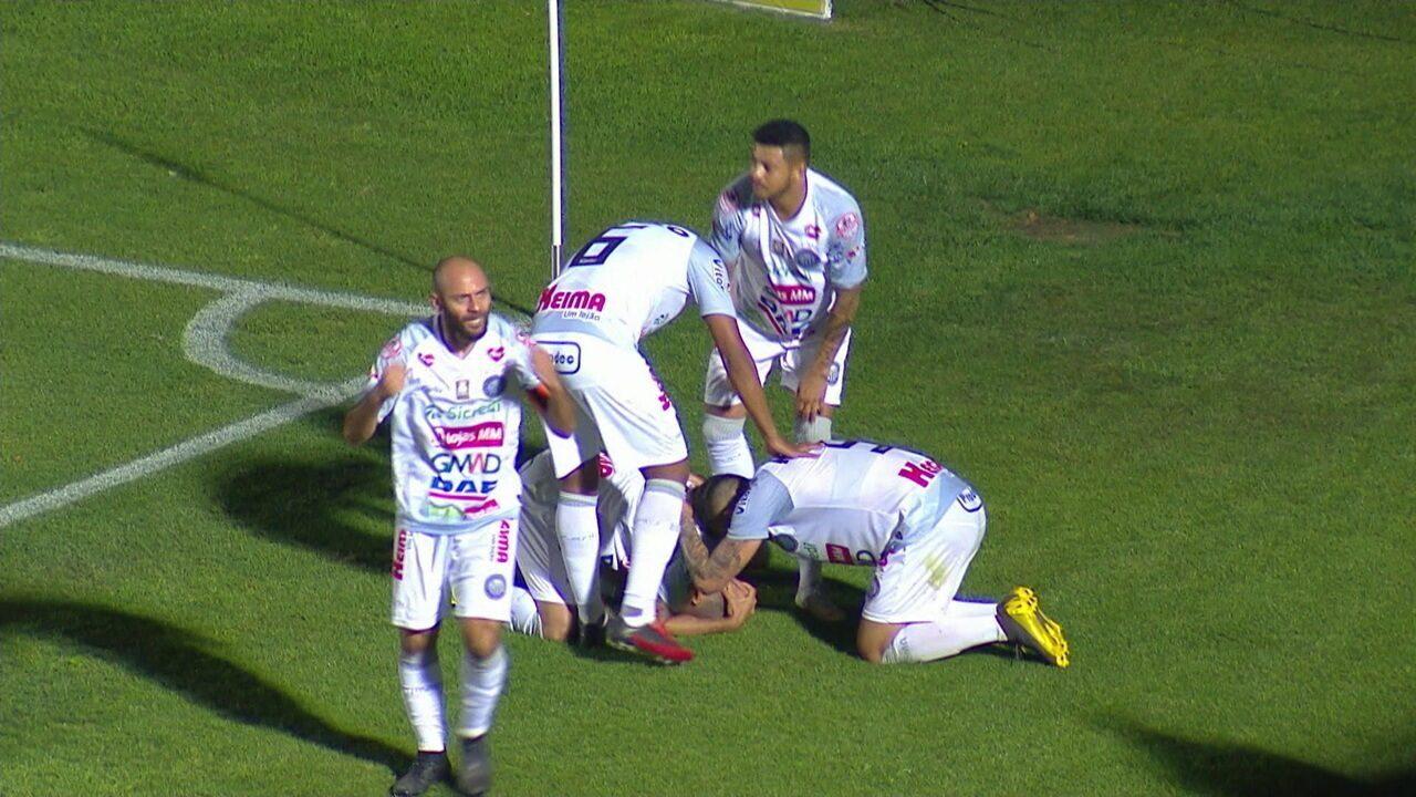 Os gols de Operário-PR 2x1 Ponte Preta pela 23ª rodada do Campeonato Brasileiro da Série B