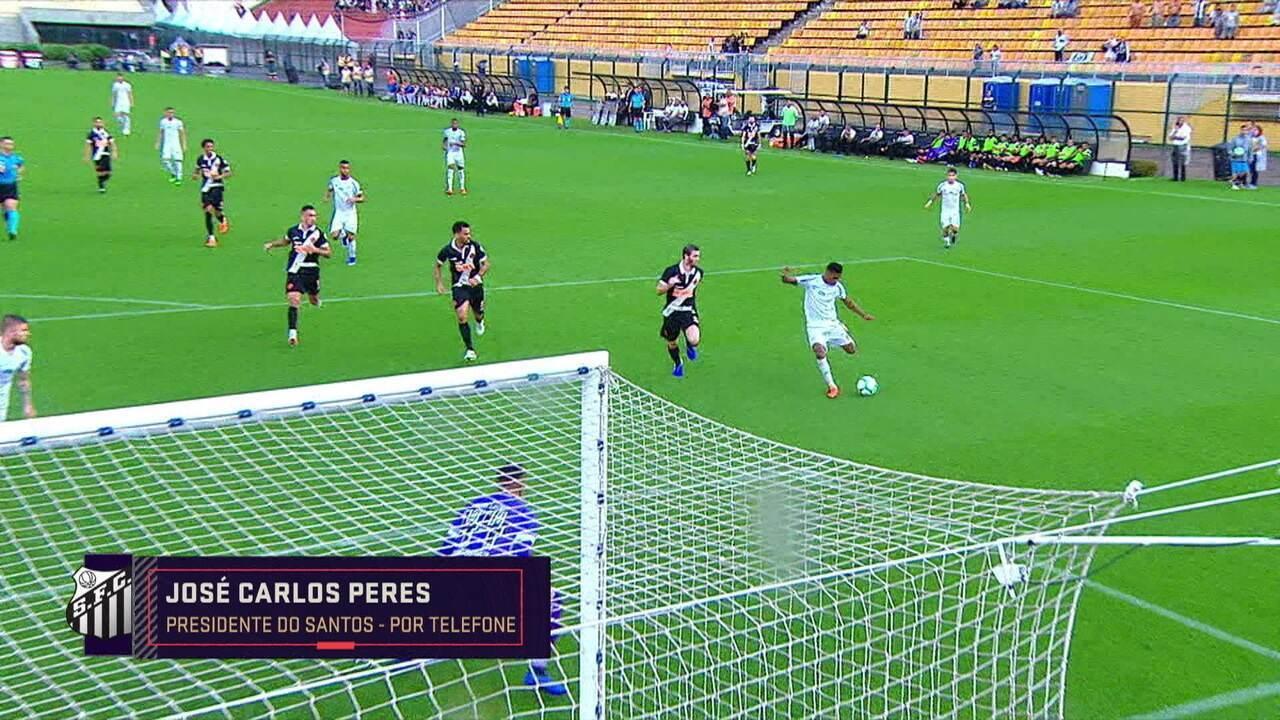 Veja a entrevista de Peres no Seleção SporTV