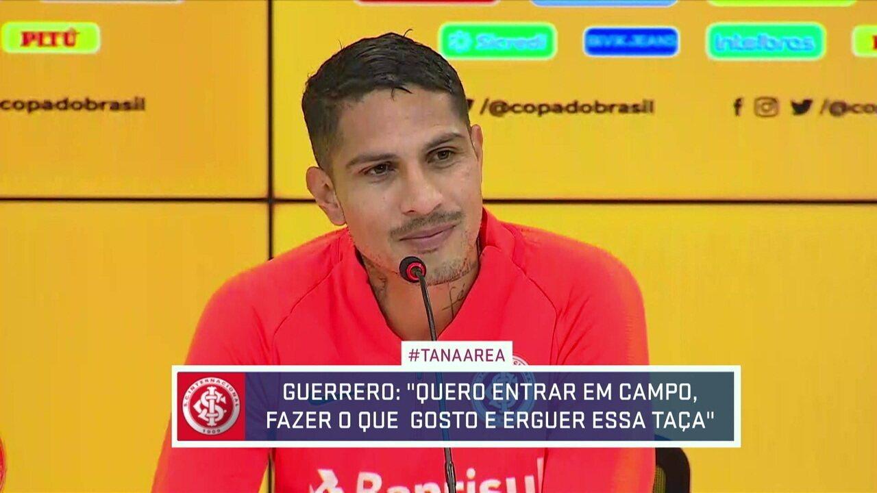 Paolo Guerrero fala sobre expectativa para a final da Copa do Brasil