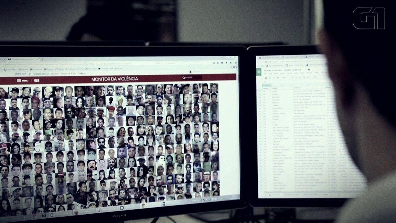 Monitor da Violência completa 2 anos; entenda como o projeto é feito
