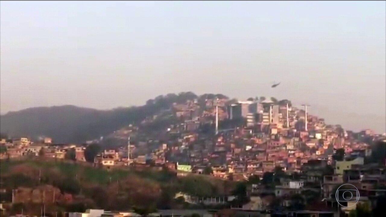 Seis pessoas morrem em operação no Complexo do Alemão no Rio