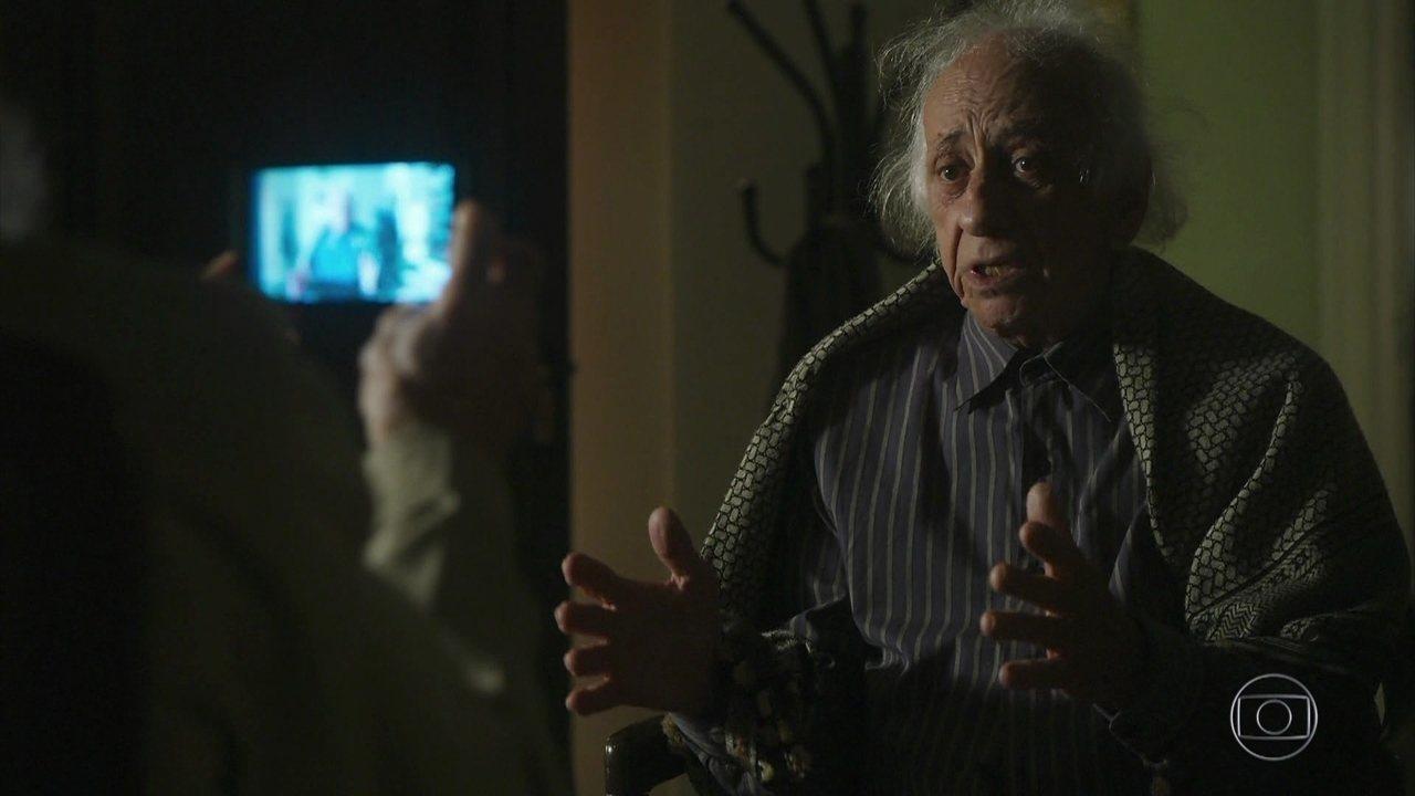 Bóris faz um vídeo de Mamede