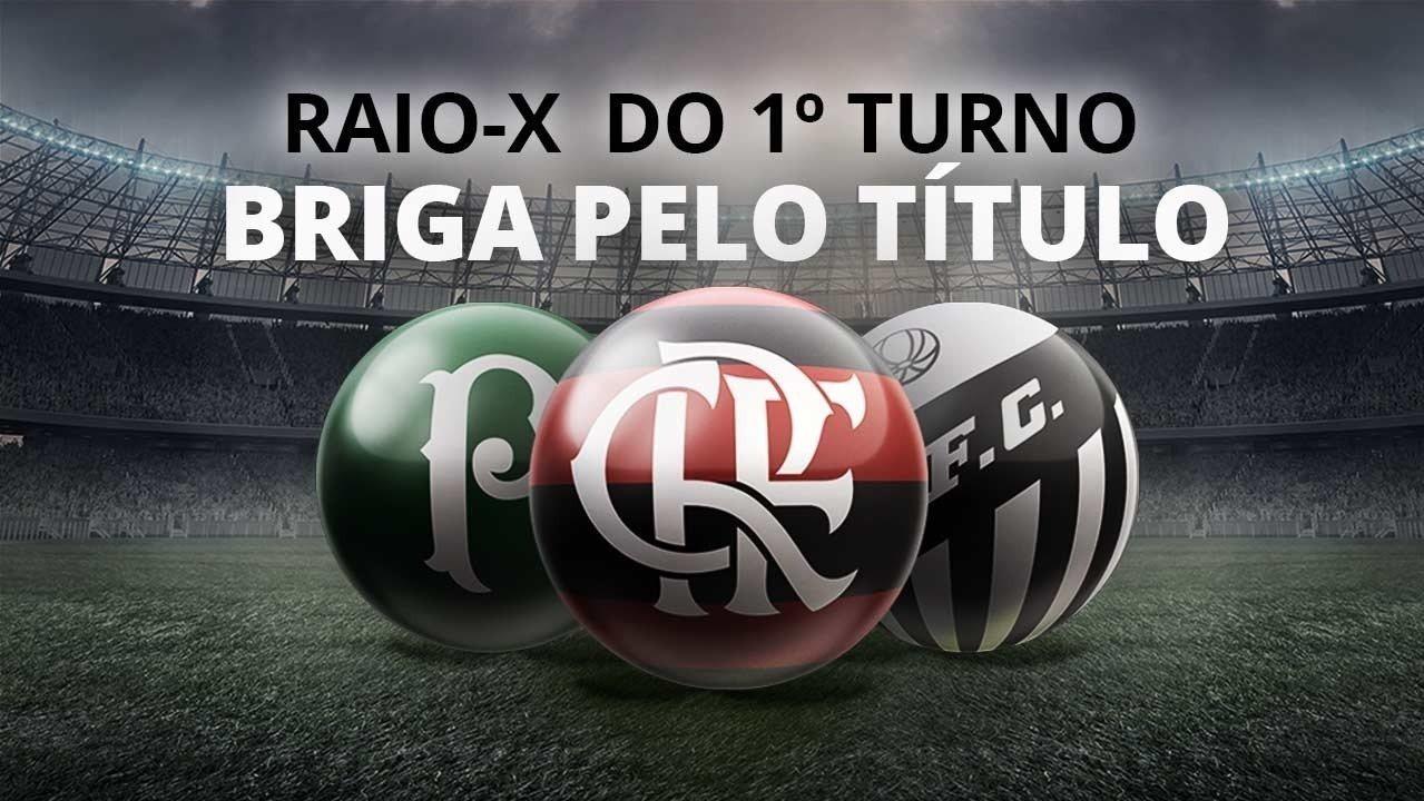 Raio-X do primeiro turno: Flamengo, Palmeiras e Santos fazem a briga pelo título