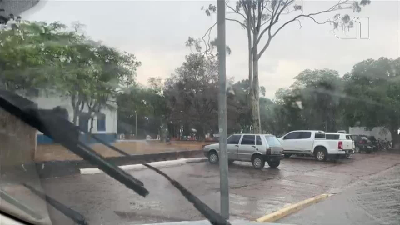 Chuva é registrada em Sorriso, Primavera do Leste e Chapada dos Guimarães