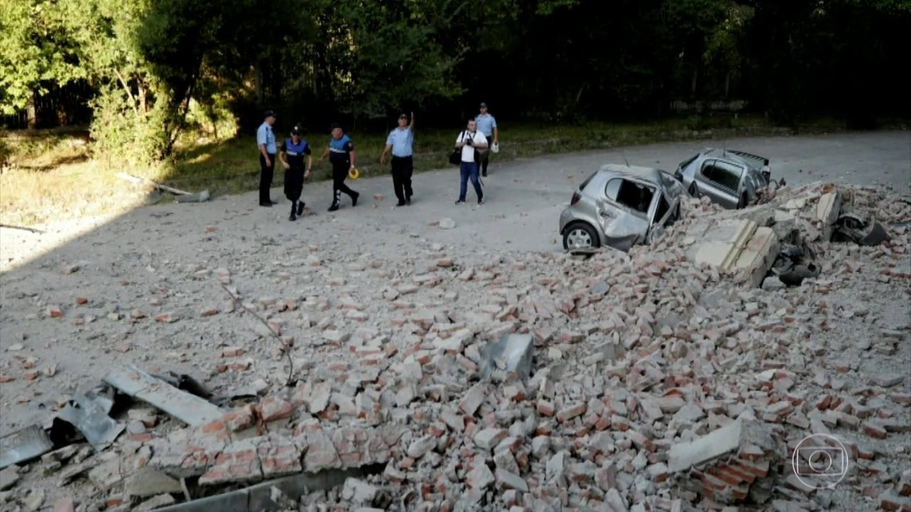 Terremoto atinge o oeste de Tirana, na capital da Albânia