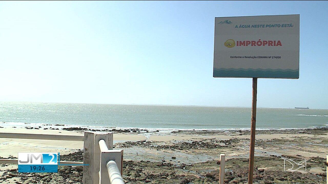 Poluição afeta o comércio nas praias de São Luís