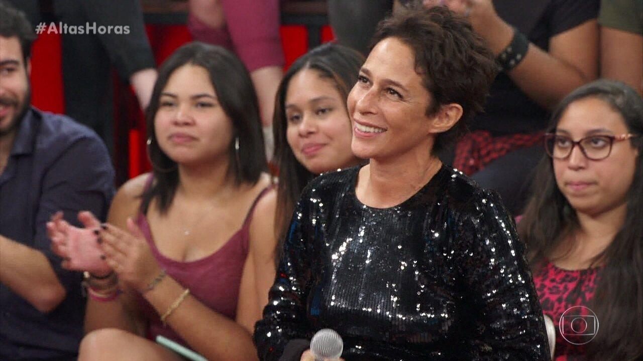 Andréa Beltrão fala sobre a responsabilidade de interpretar Hebe no cinema