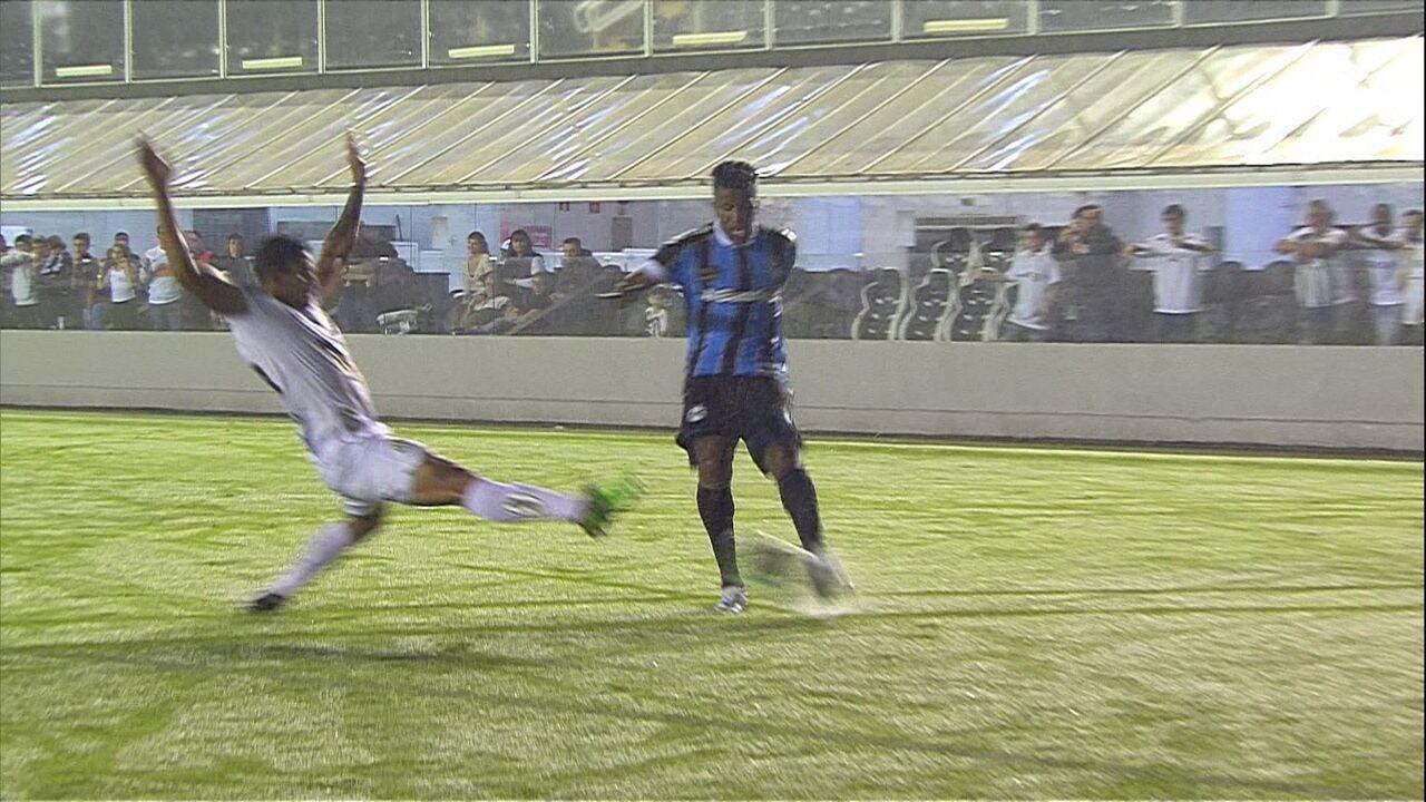 Melhores momentos de Santos 0 x 3 Grêmio pela 20ª rodada do Brasileirão 2019