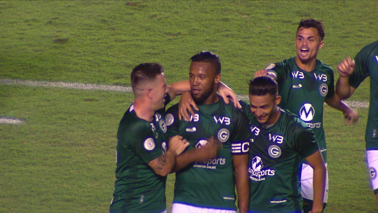 Melhores momentos: Goiás 3 x 0 Fluminense pela 20ª rodada do Brasileirão