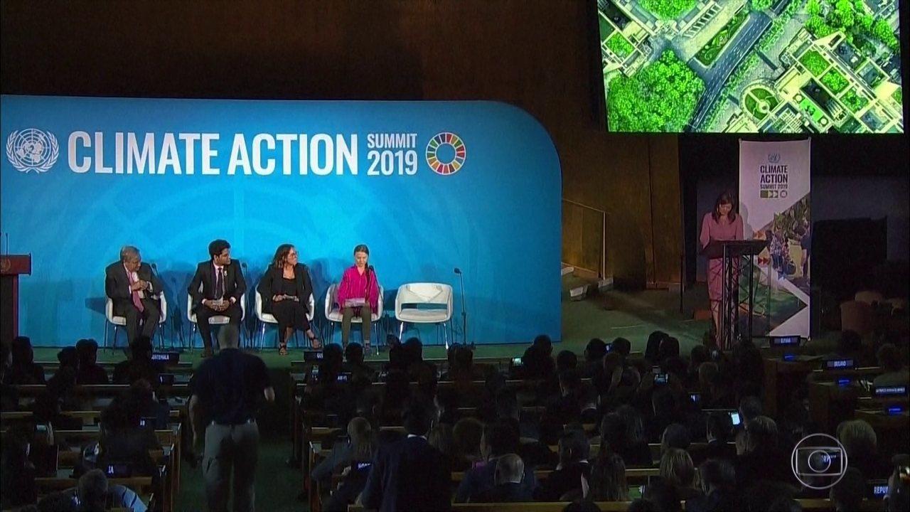 Cúpula do Clima reúne mais de 60 líderes de países em Nova York, nos EUA