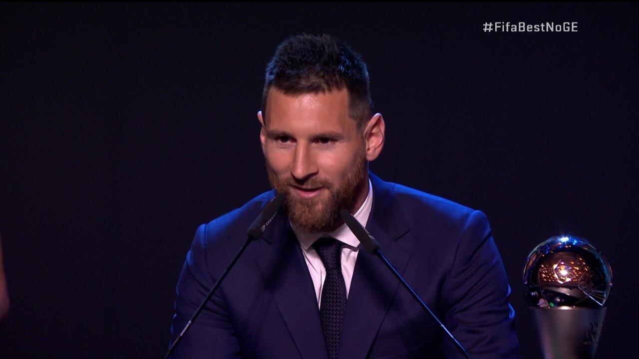 Lionel Messi é eleito o melhor jogador do mundo em cerimônia da Fifa