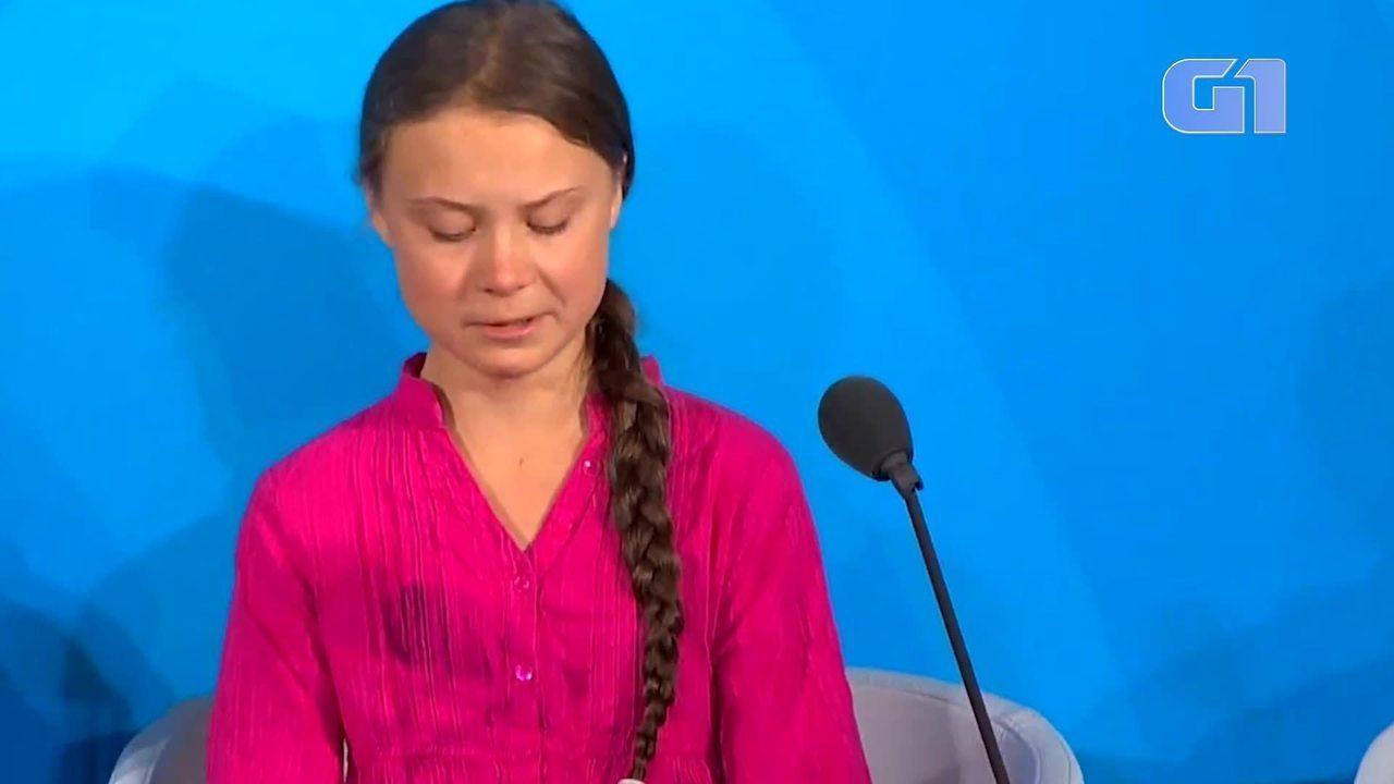5 momentos do discurso da Greta na ONU