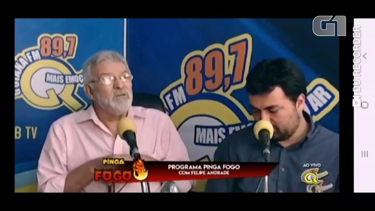 'Vai para o cano', diz prefeito de Goiana sobre vereador em entrevista a rádio