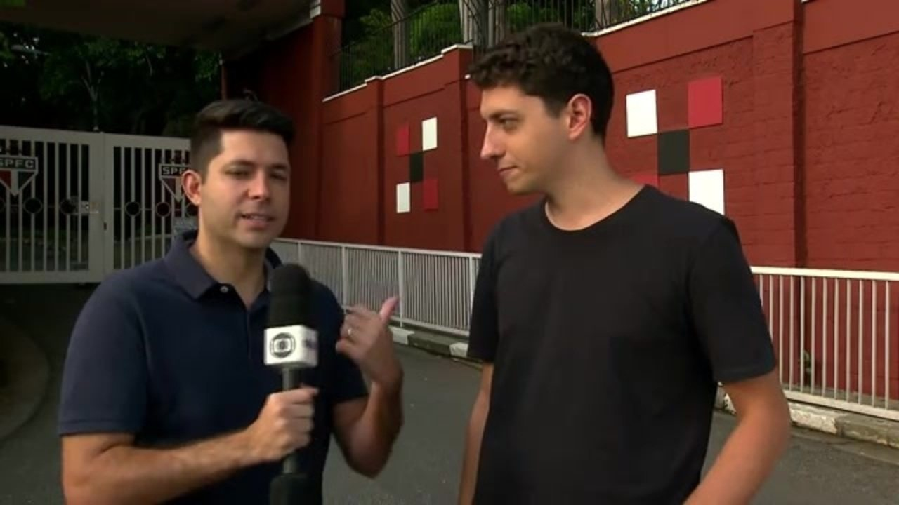 Repórteres Caio Maciel e Marcelo Hazan trazem informações do São Paulo nesta terça-feira