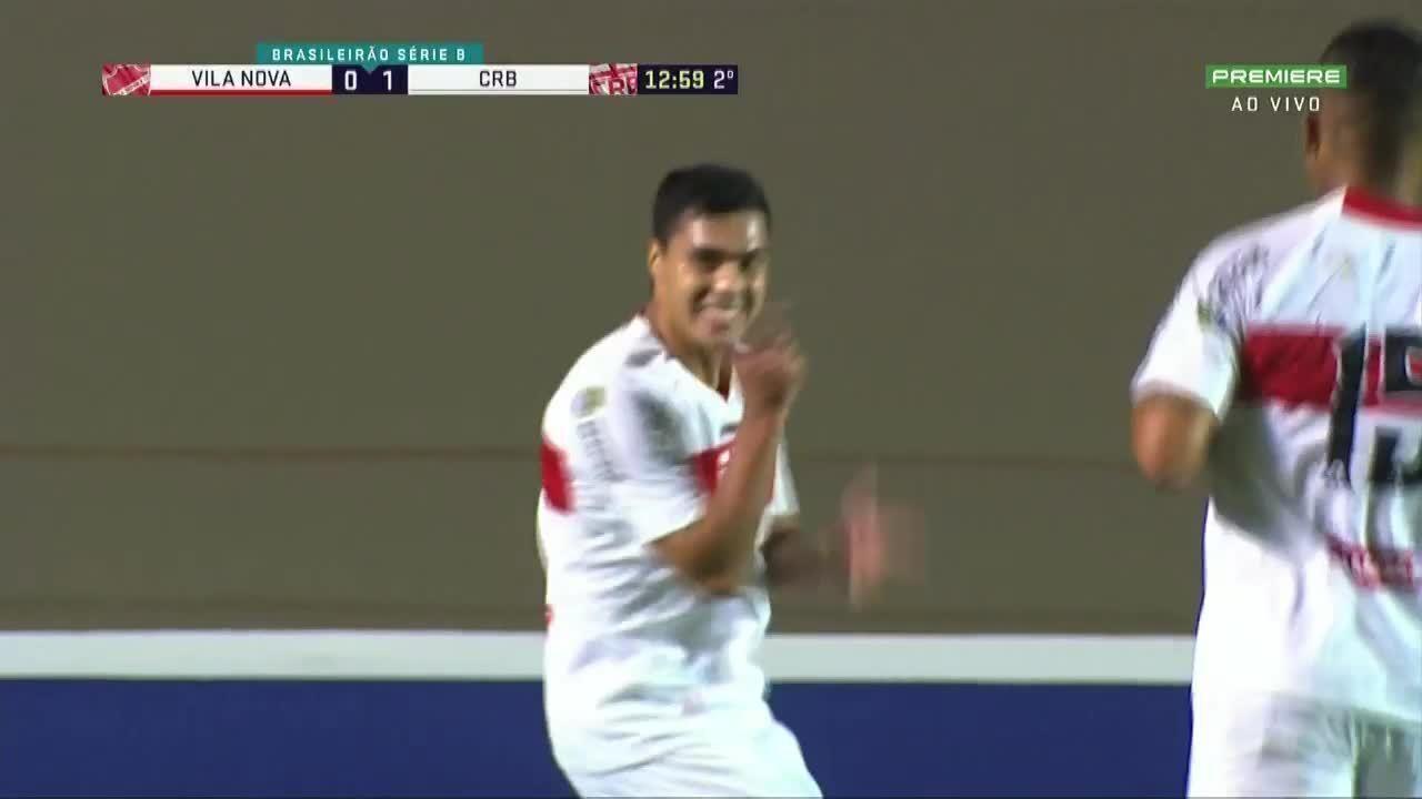 Gol do CRB!!! Alisson Farias aumenta o placar, aos 12' do 2º tempo