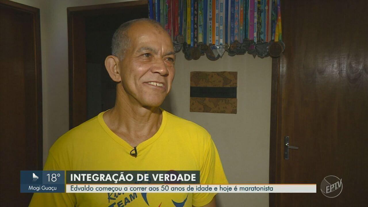 Morador de Valinhos começou a correr aos 50 anos de idade e hoje é maratonista