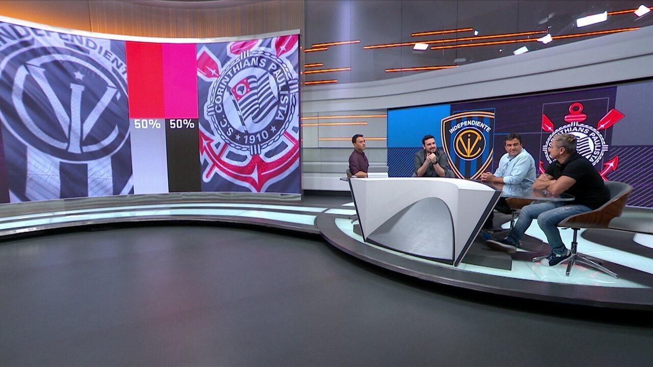 Seleção traz favoritômetro de Independiente del Valle x Corinthians