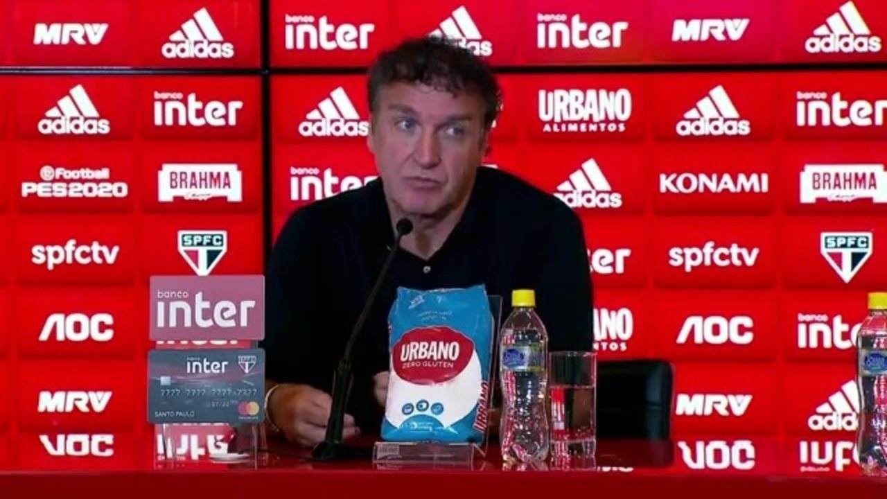 """Cuca explica saída do São Paulo: """"Não estou pensando em mim, e sim no São Paulo"""""""