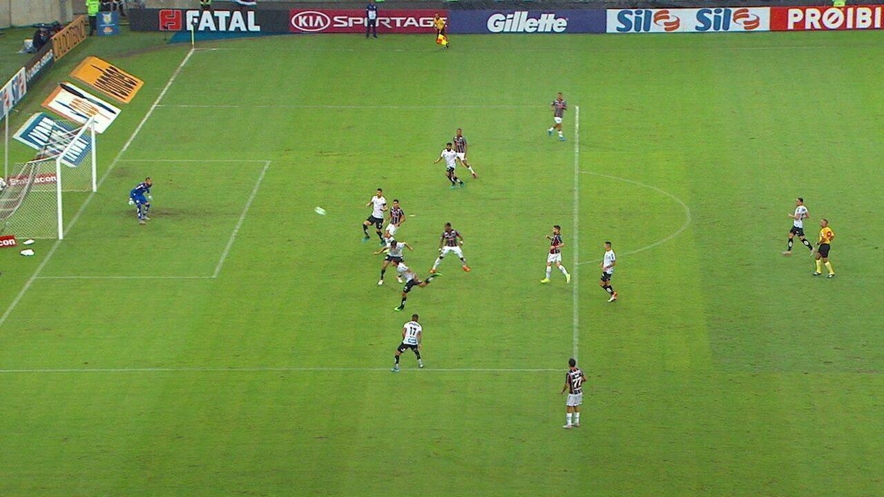 Melhores momentos de Fluminense 1 x 1 Santos pela 21ª rodada do Campeonato Brasileiro
