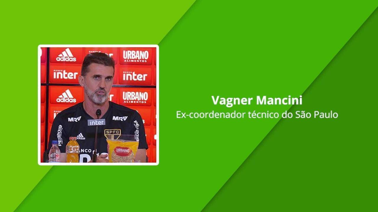Em áudio vazado, Vagner Mancini fala em pedido de Daniel Alves por Fernando Diniz
