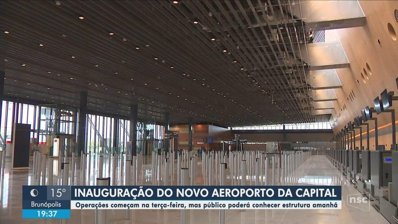 Novo aeroporto de Florianópolis será inaugurado neste fim de semana; entenda novo acesso