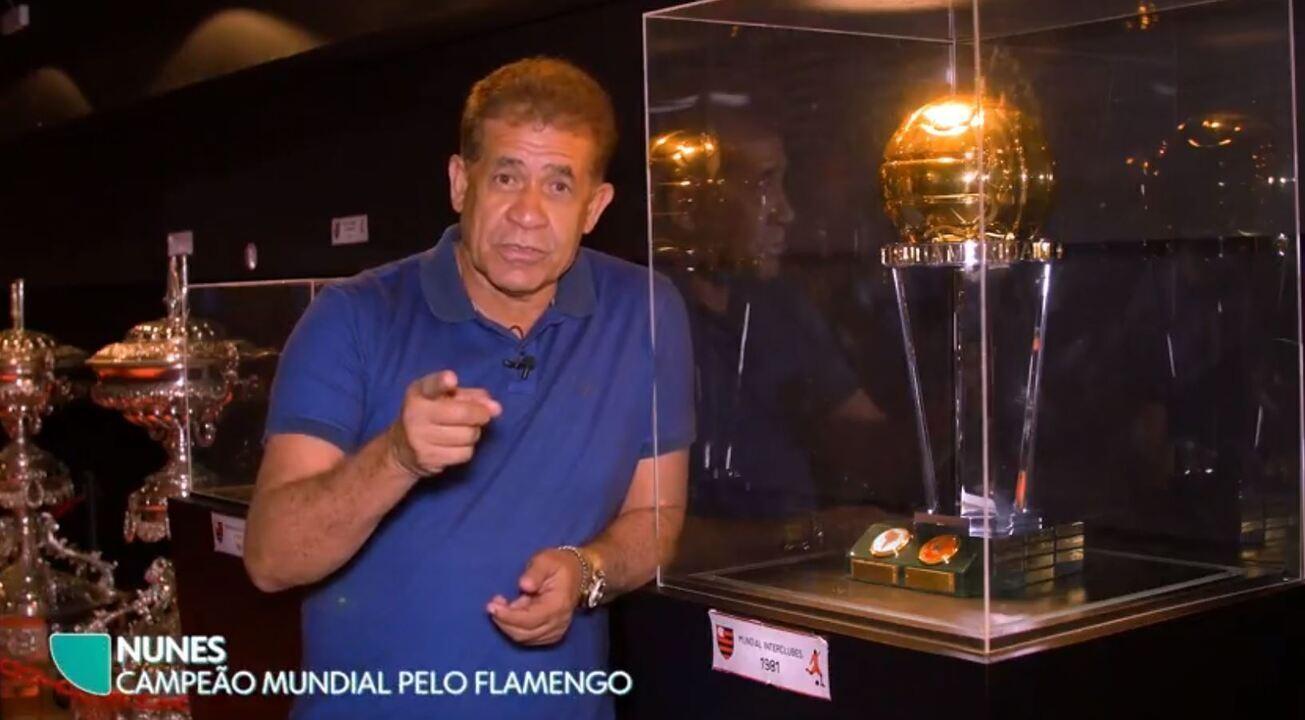 Nunes e Zico desejam boa sorte ao Flamengo no Mundial de LoL