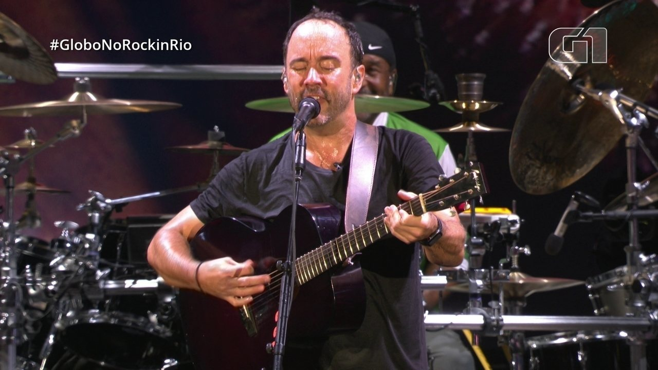 Dave Matthews Band mistura AC/DC com Bee Gees no Rock in Rio