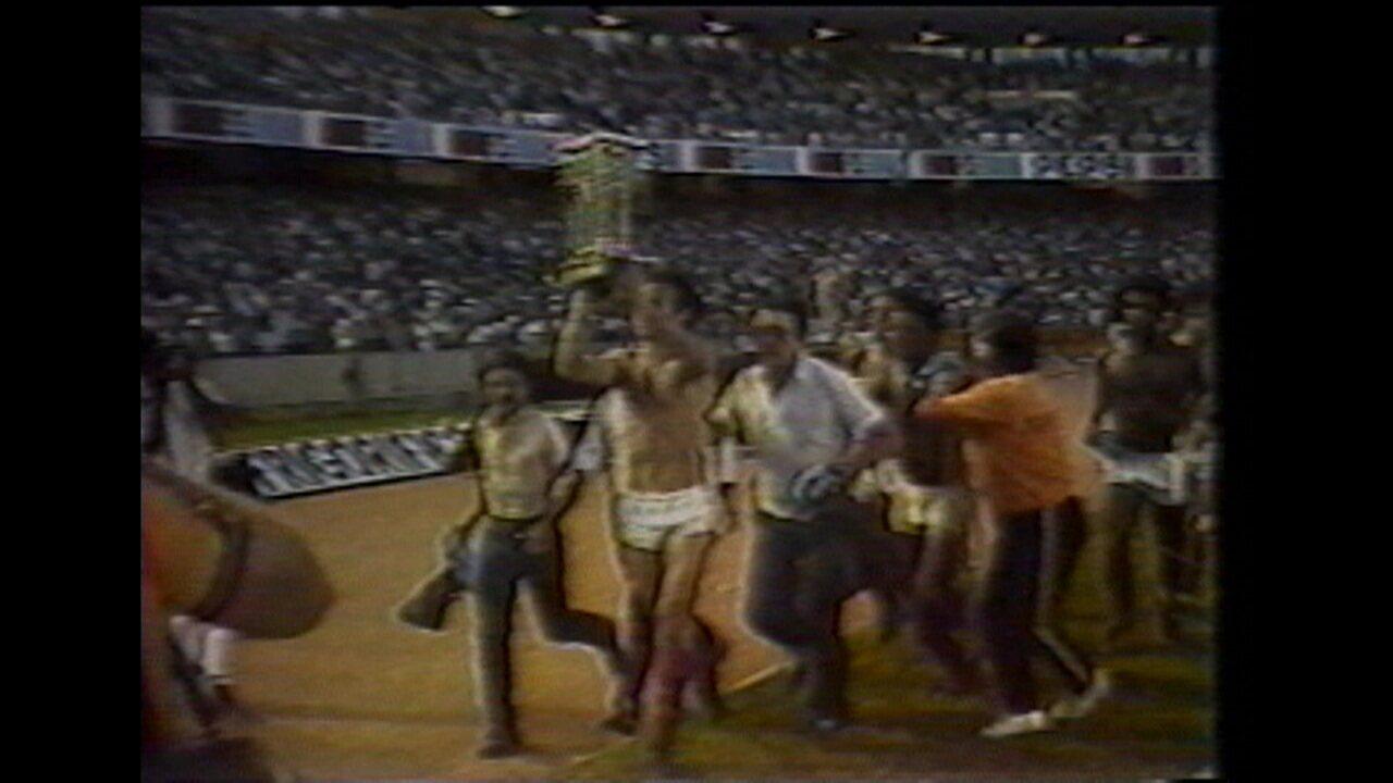 Em 1982, Flamengo vence Grêmio por 1 a 0 e conquista título