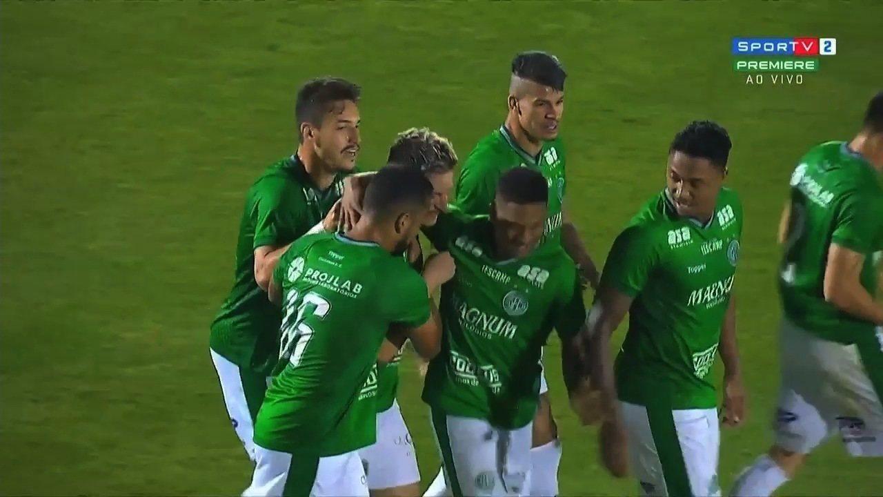 Confira os gols de Guarani 2x0 Atlético-GO pela Série B
