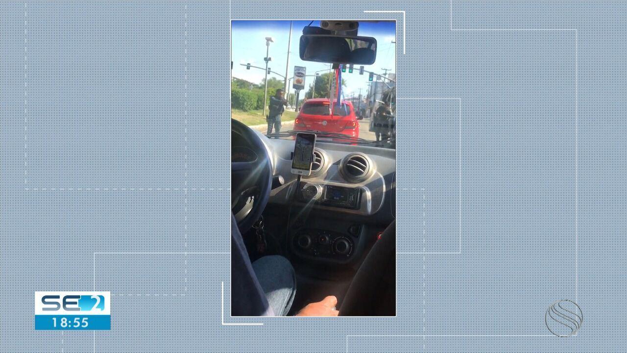 Confronto foi registrado na Avenida Beira Mar
