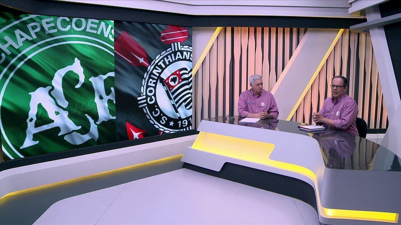 Jota Jr e Wagner Vilaron comentam vitória do Corinthians sobre a Chapecoense
