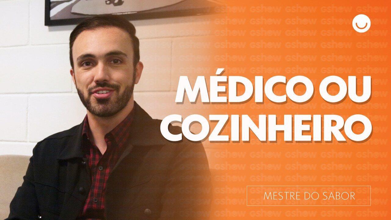 Leo Paixão fala sobre como foi deixar de ser médico para ser cozinheiro