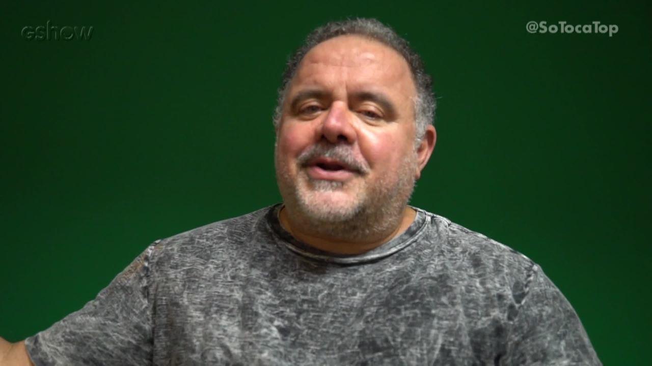 Leo Jaime responde perguntas dos convidados do programa