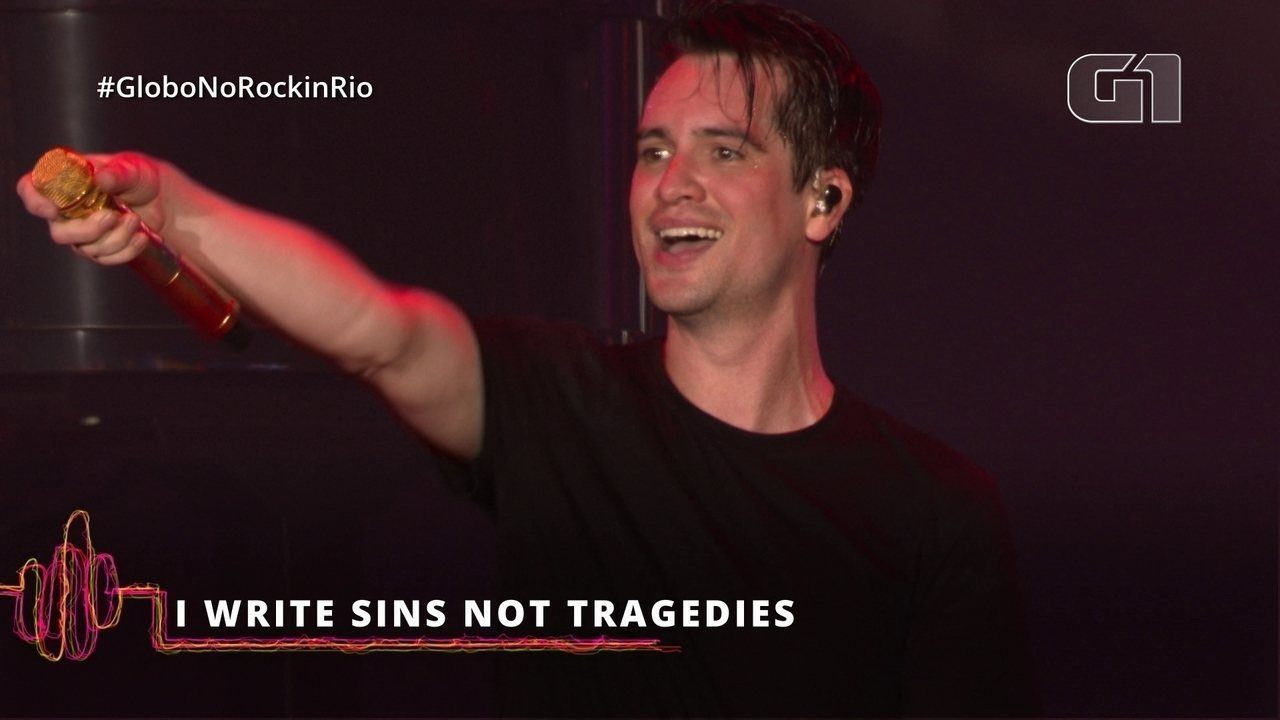 "Panic! At The Disco interpreta ""I Write Sins Not Tragedies"" no Rock in Rio"