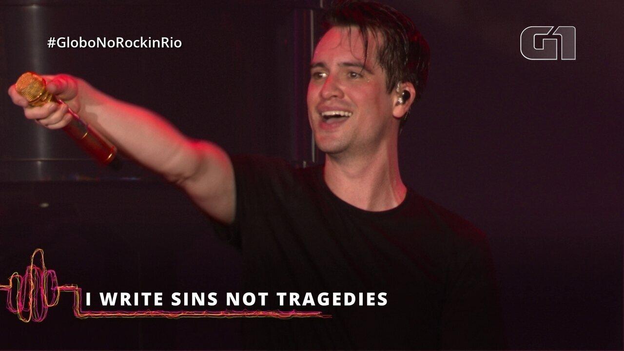 "Panic! At The Disco interpreta ""I Write Sins Not Tragedies"" no Rock in Rio"
