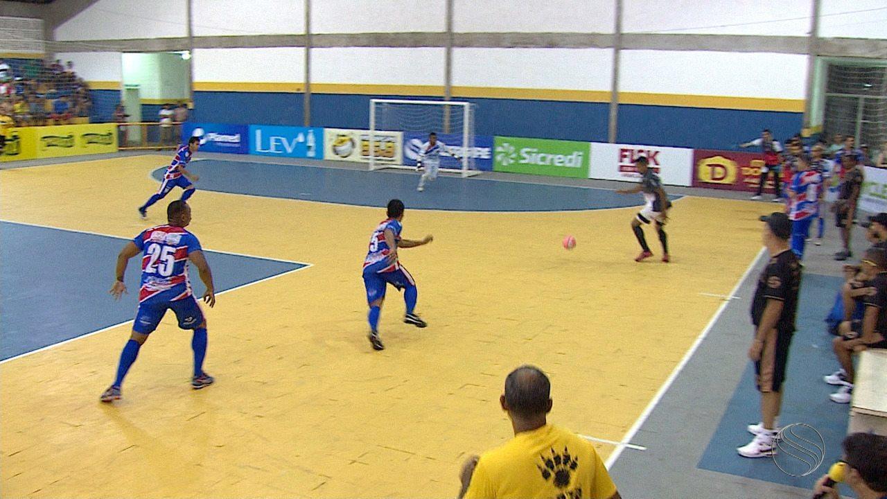 Itabaiana confirma favoritismo sobre Aparecida nas quartas de final da Copa TVSE