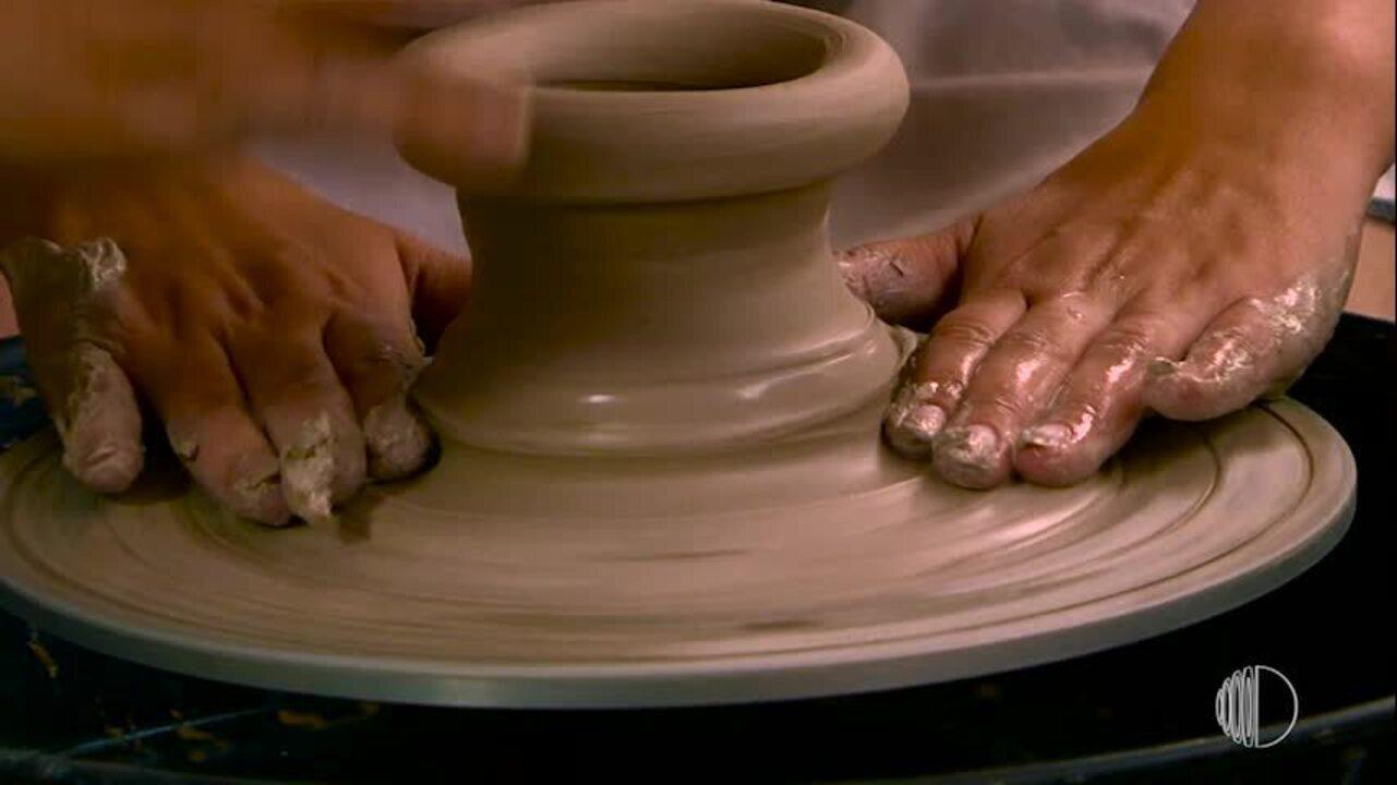 Tradef oferece aulas de cerâmica para os deficientes da região
