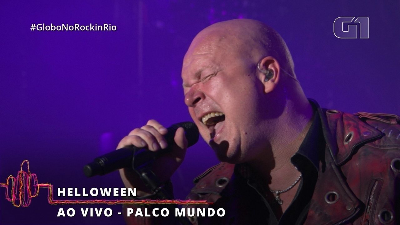 "Helloween canta ""A Tale That Wasn't Right"" no Rock in Rio"