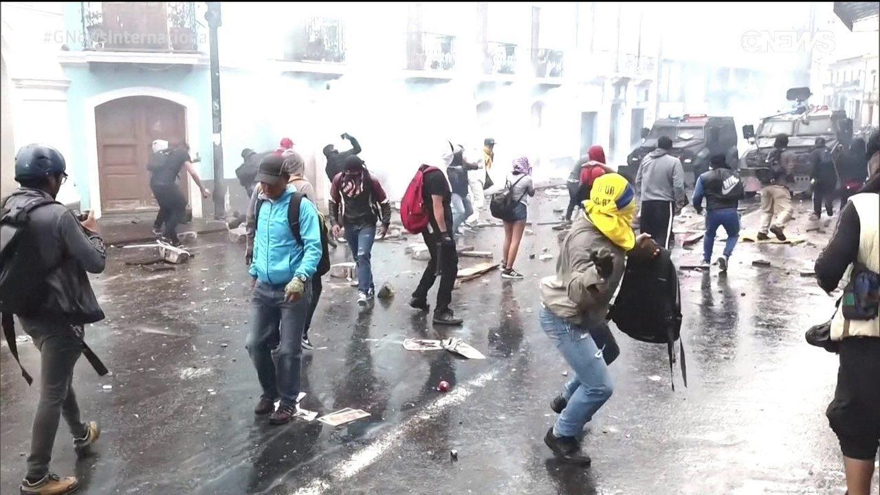 As crises políticas no Peru no Equador
