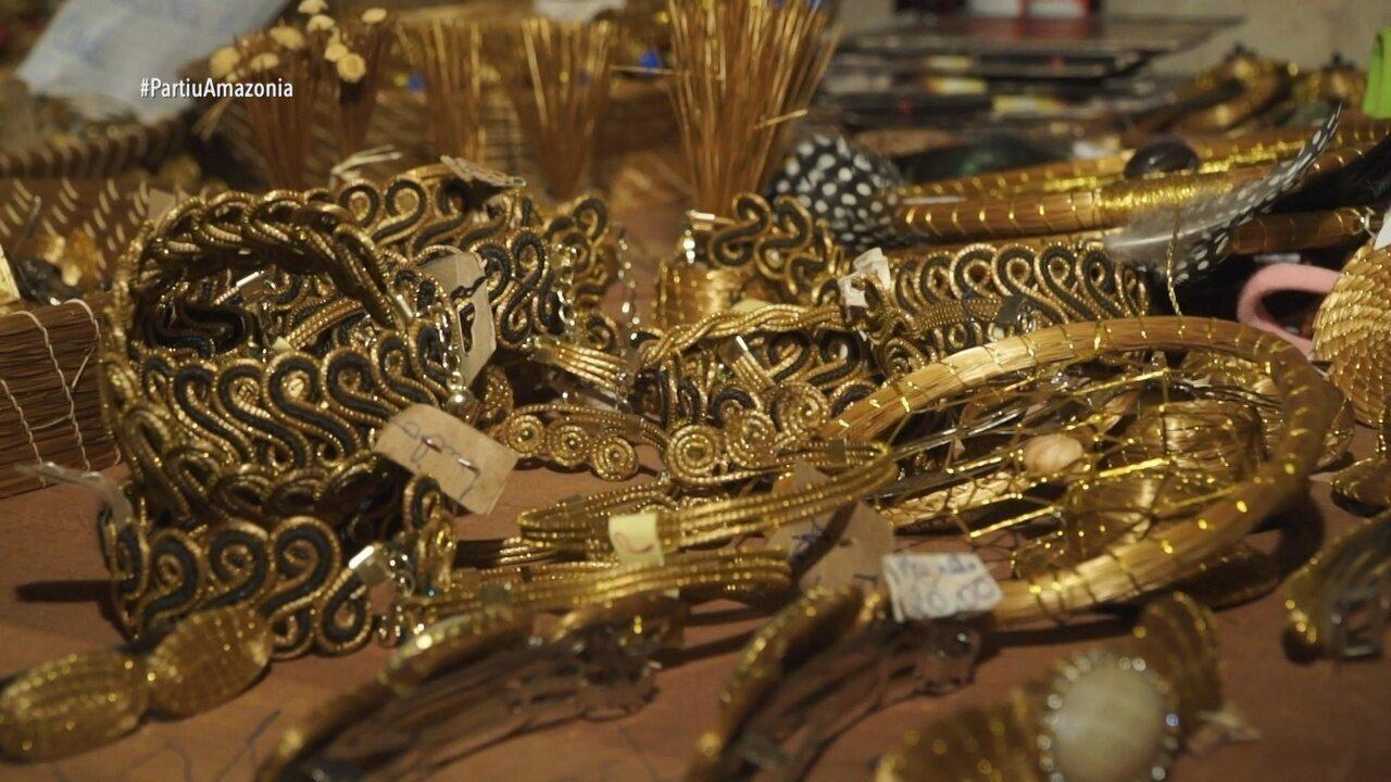 Parte 2: Tem também visita a um quilombo que trabalha com o capim dourado