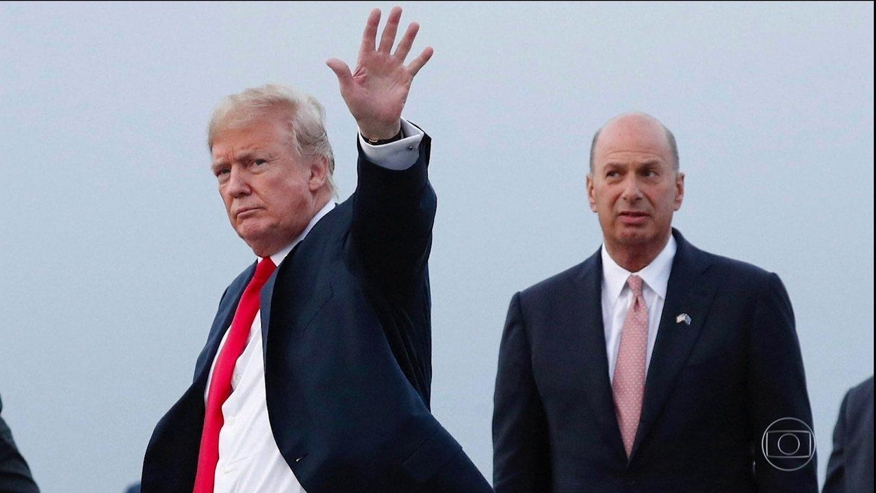 Governo americano não vai colaborar com inquérito de impeachment contra Trump