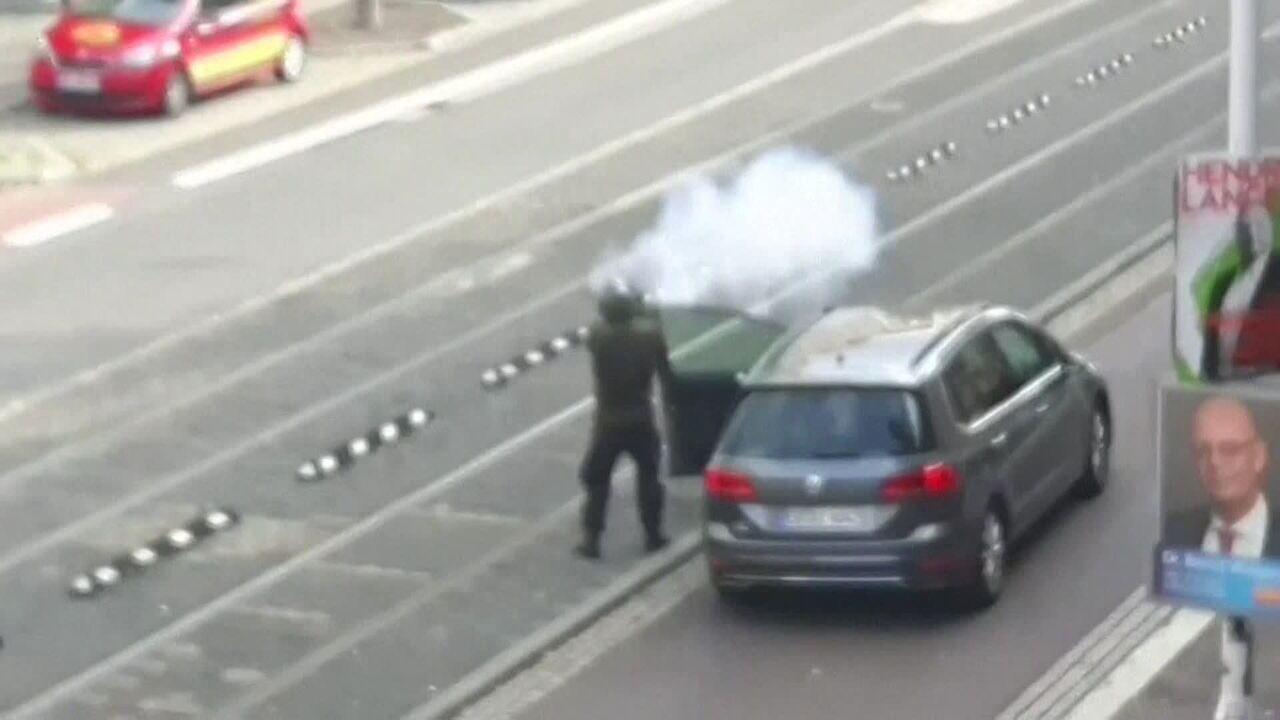 Suspeito de ataque na Alemanha é preso